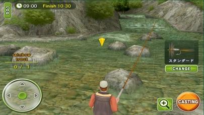 フライフィッシング3D プレミアム screenshot1