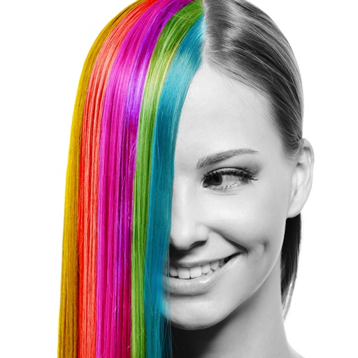 Hair Color Style Changer - Hair Recolor Effects Salon