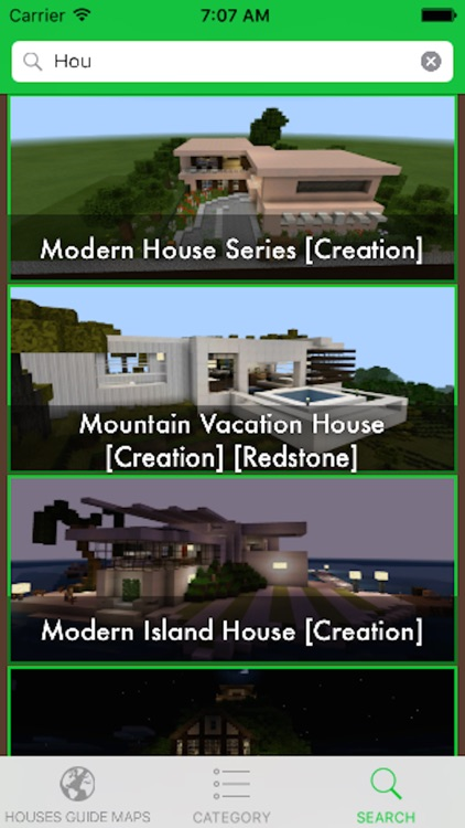 Building Guide for Minecraft - Houses for Minecraft PE MineMaps screenshot-3