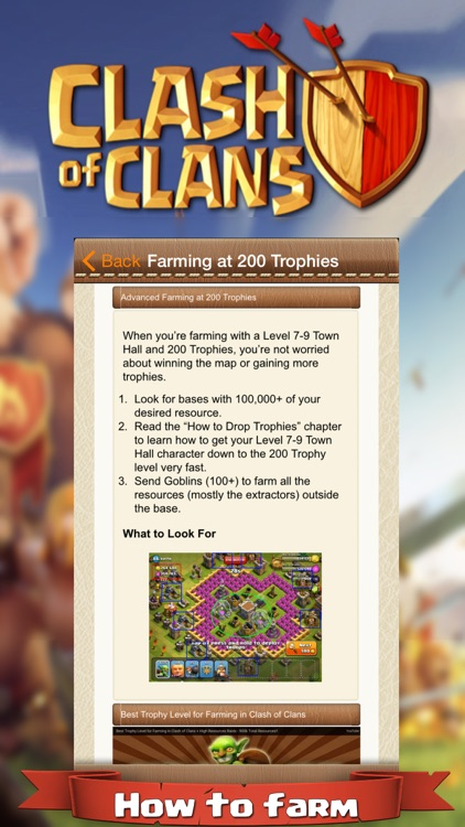Guide and Tools for Clash Of Clans screenshot-3