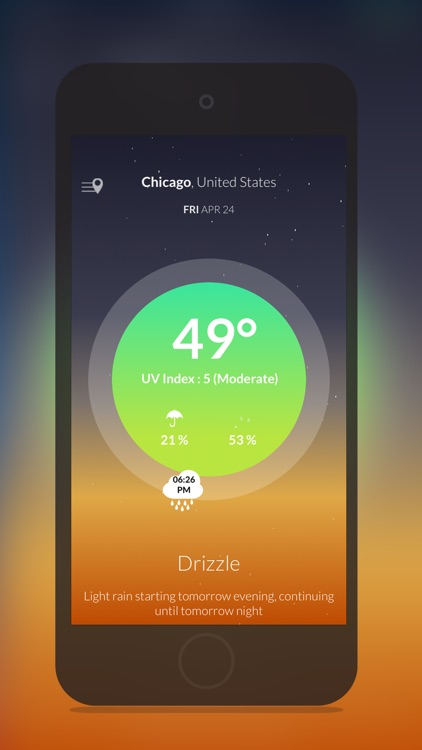 Wther : Bright Weather Forecast screenshot-0