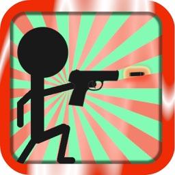 Finger Death: Hit Shoot Sticker