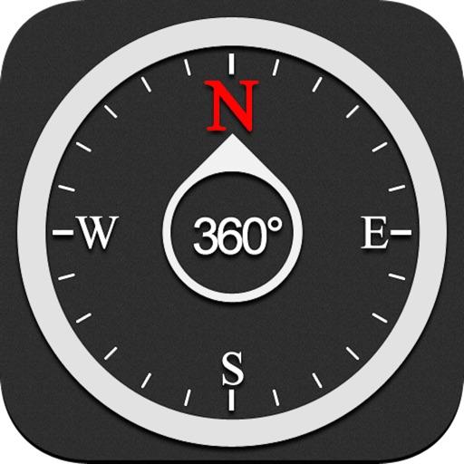 手机定位神器-专业指南针,实时获取经纬度、海拨和当前速度 app logo