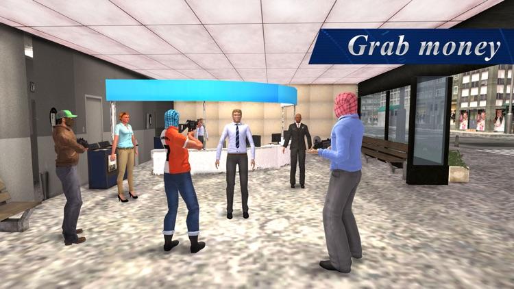 Bank Robbery Simulator – Professional heist mafia roars city screenshot-4