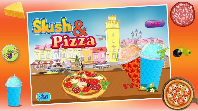 Slush and Pizza Maker – Free Crazy Italian Pizzeria Chef Restaurant & Kitchen cooking Games for Girls