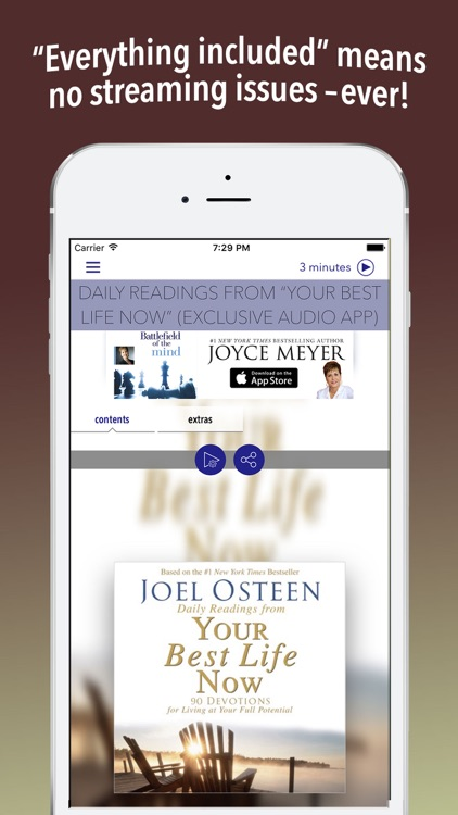 "Daily Readings: ""Your Best Life Now"" (Joel Osteen) screenshot-0"
