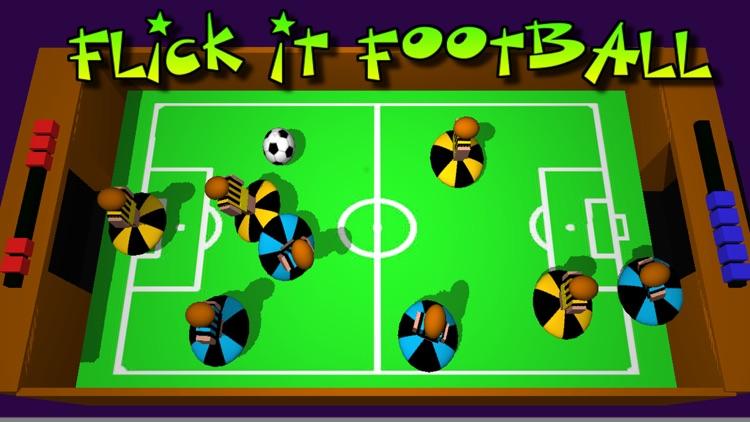 Flick It Football 3d screenshot-4