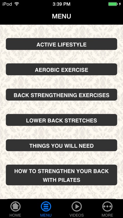 A+ How To Strengthen Lower Back - Exercise & Relieve Pain screenshot-4