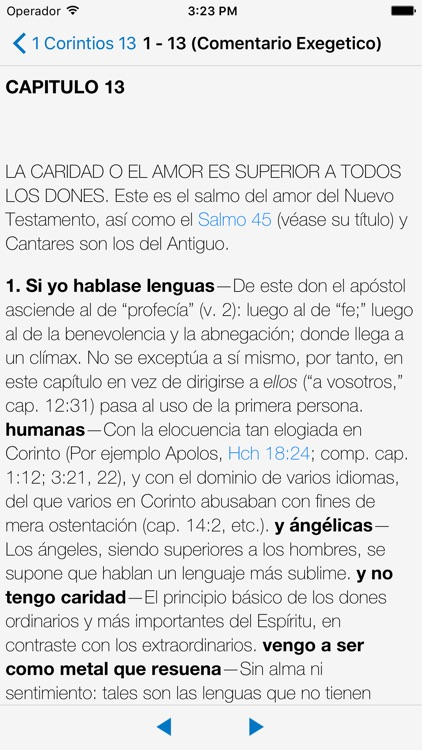 Bible Reina Valera with Commentary in Spanish