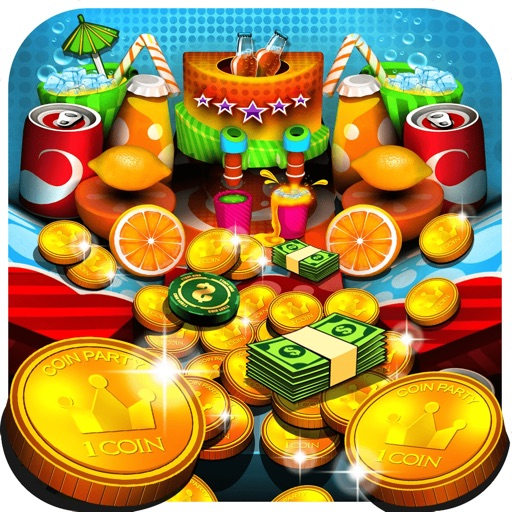Soda Coin Party: Free Casino Pusher iOS Hack Android Mod