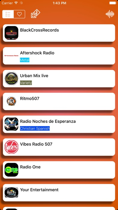 Radio Panamá - FM AM screenshot three