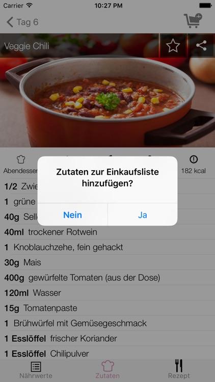 7 Tage Diät - Rezepte Coach screenshot-4