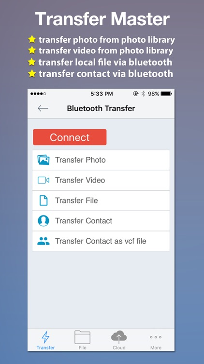 Transfer Master -Transfer photo,video,file,contact screenshot-0