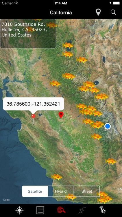 California: Lakes and Fishes screenshot-3