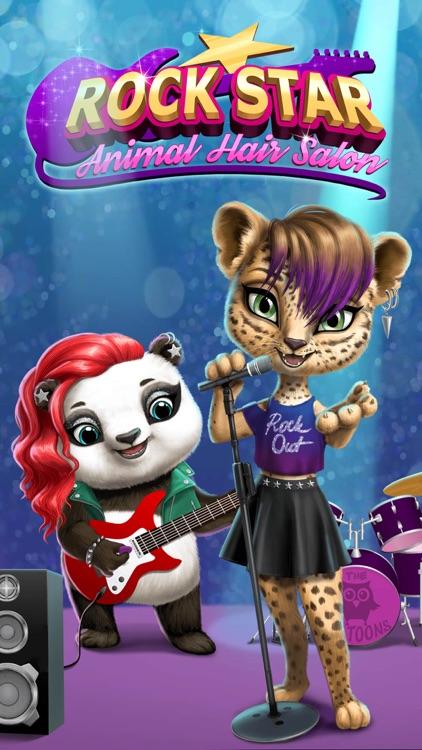 Animal Hair Salon Rock Stars screenshot-0