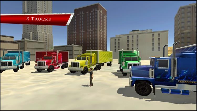Driving In Truck : Free Play Racing Simulation screenshot-4