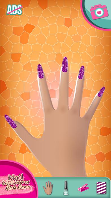 Nail Makeover Girls Game: Virtual beauty salon - Nail polish