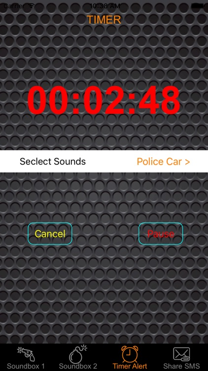 Police Sound & Siren Warning Sounds Effect Button: Ambulance, Fire Truck, Air Horn & Whistle Blast