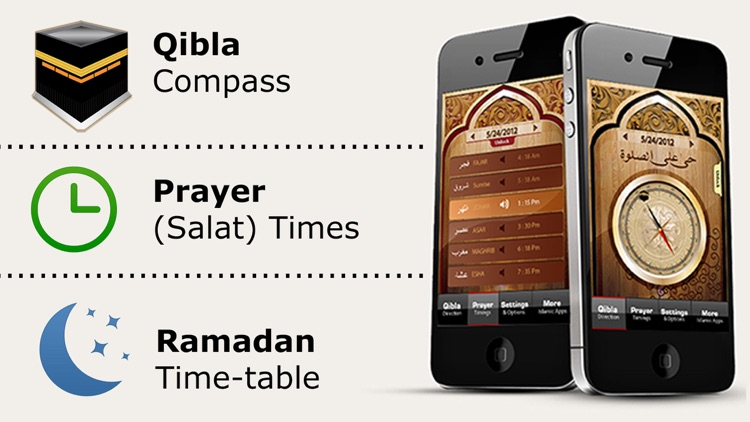 Islamic Qibla - Muslim Prayer Times, Athan Ramadan screenshot-0