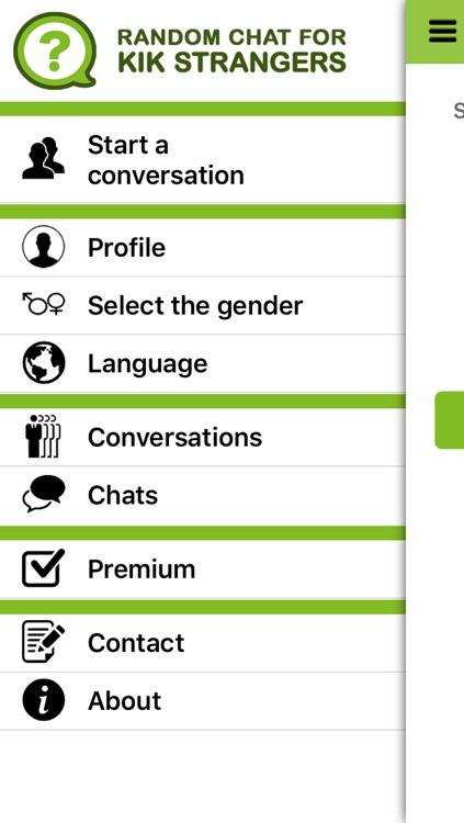 Random Chat for KIK Strangers by max saban