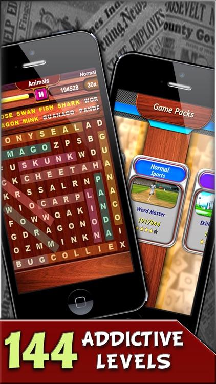 Word Swipe Free : Word Search screenshot-3