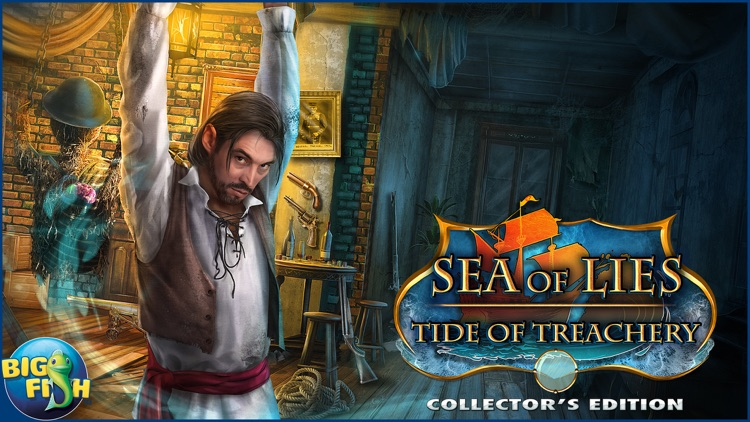 Sea of Lies: Tide of Treachery - A Hidden Object Mystery (Full) screenshot-4