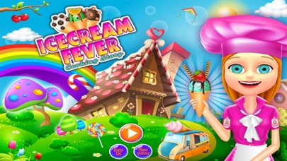 Ice Cream Fever Cooking Girls Game screenshot two