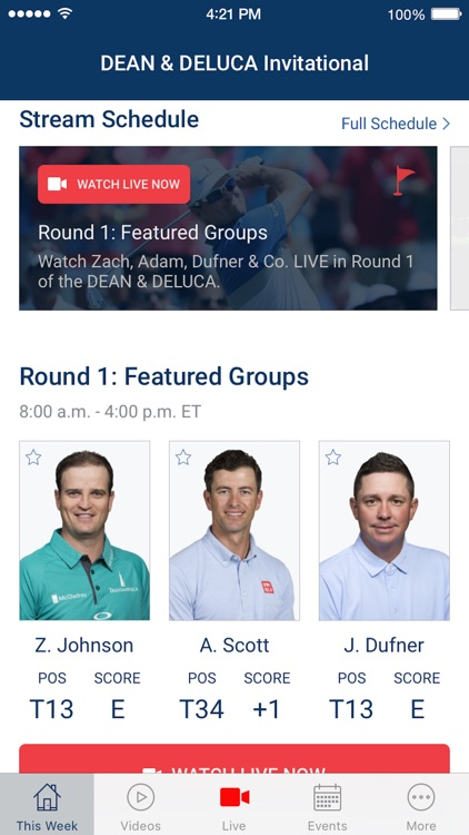 PGA TOUR LIVE screenshot-0