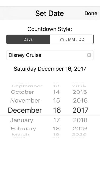 Days to go DCL screenshot-4