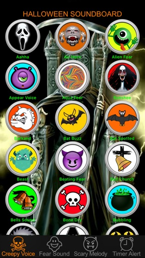 Halloween Night Sound Effects Box & Countdown