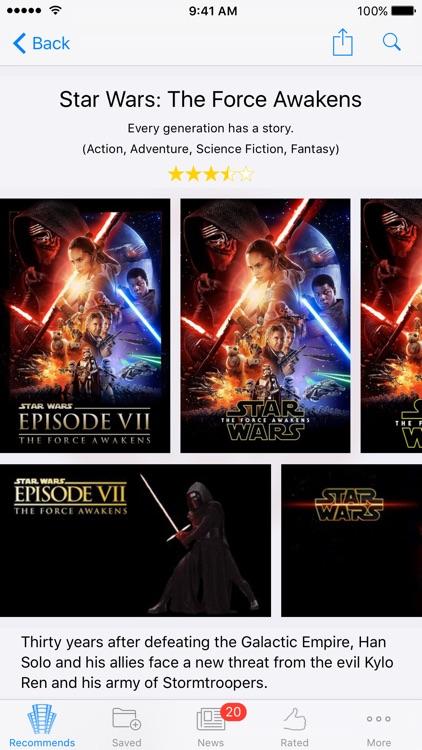Movie Genius - Film Recommendations screenshot-3