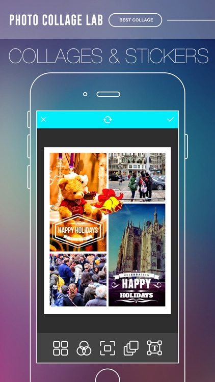Photo Collage Lab Pro - photo editor, collage maker & creative design App screenshot-2