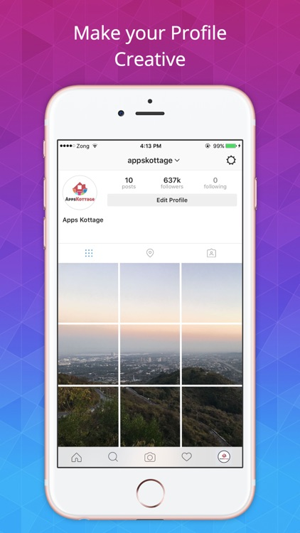Grid Photo - Collage Pic maker and Picture editor screenshot-3