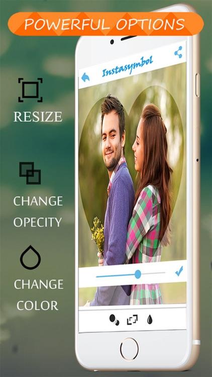 Color Frames & Nice Shapes Image Editor screenshot-4