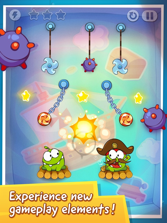 Screenshot #3 for Cut the Rope: Time Travel™