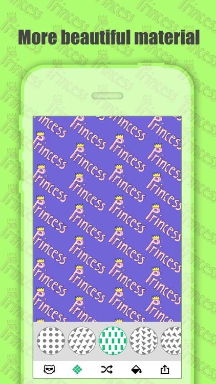 Pattern Maker Pro - Create Cute Background.s & Wallpaper.s screenshot-3