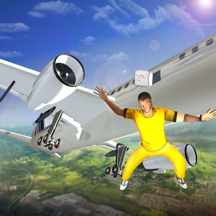 Prisoner Escape Police Airplane - Prison breakout mission in criminal transporter aircraft game