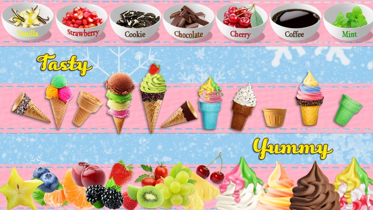 Ice Cream Sundae Maker - Fun Crazy Summer Frozen Ice Cream Games for Kids