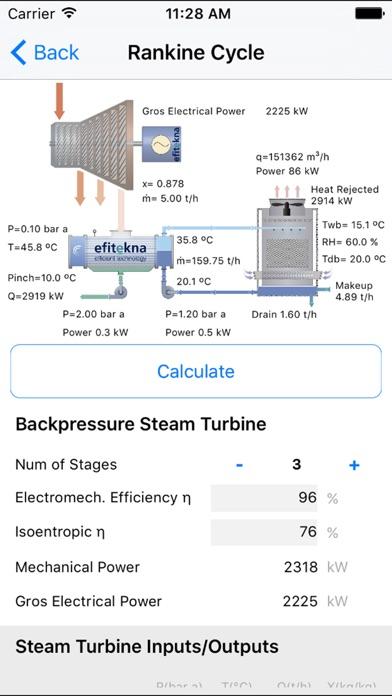 efitekna - thermodynamics app screenshot three