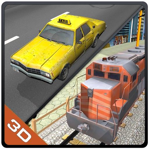 Coger el tren - vehículos extremas de conducción y el aparcamiento juego de simulador