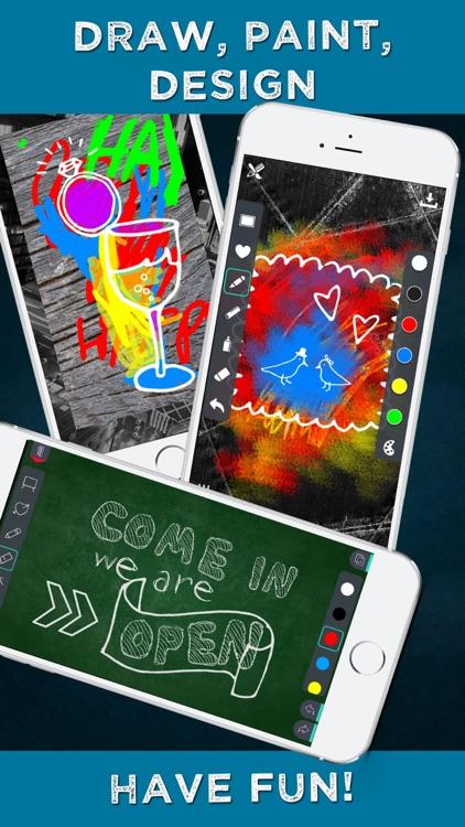 Chalkboard Signs - Chalk Graphics Creator & Poster Maker DIY screenshot-4