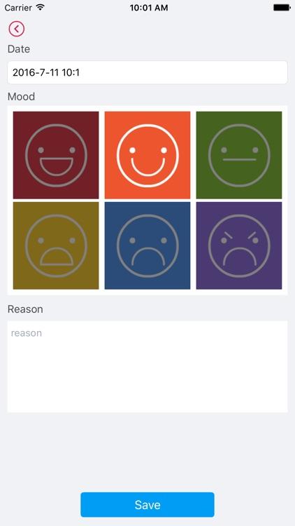 Mood Diary -  thought Journal screenshot-3