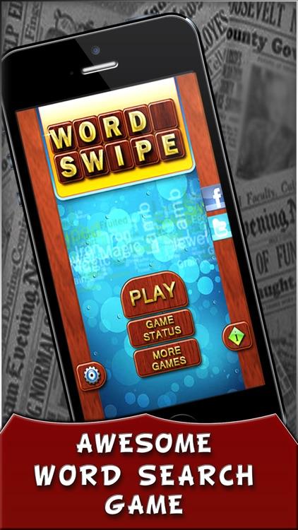 Word Swipe Free : Word Search