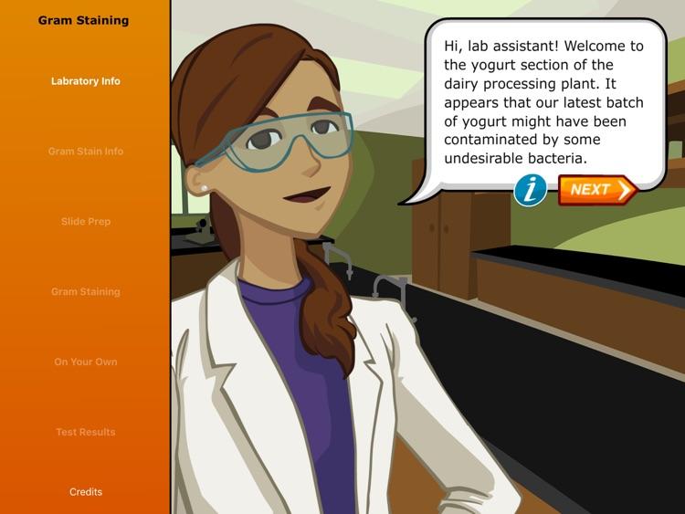Virtual Labs: Gram Staining