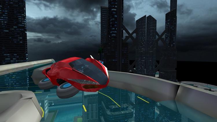Hover Car Parking Simulator - Flying Hoverboard Car City