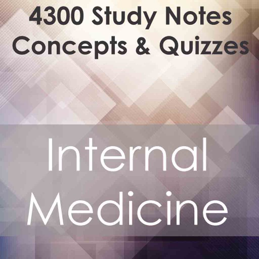 Internal Medicine Test Bank App – Full Exam Review : 4300 Flashcards Quizzes & Notes
