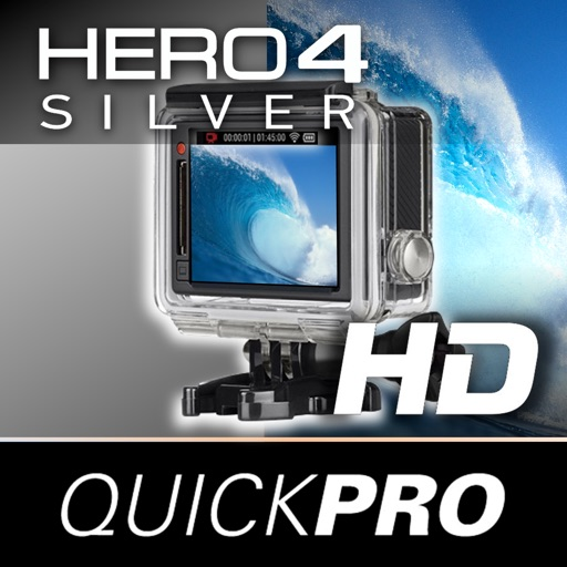 QuickPro Training + Controller for GoPro Hero 4 Silver