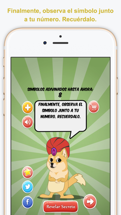 I Read Your Mind, Español (Leo Tu Mente) screenshot four