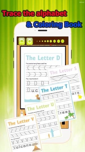 Seguir la pista del alfabeto para colorear libro de grado 1-6: ABC ...
