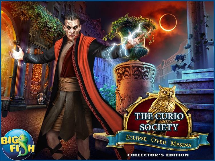 The Curio Society: Eclipse over Mesina HD - A Hidden Object Mystery screenshot-4